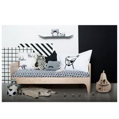 Oeuf NYC perch toddler bed from Molly-Meg