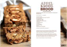 Appel kaneel brood