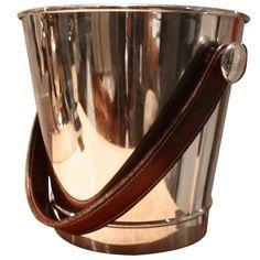 Vintage Hermes Ice Bucket