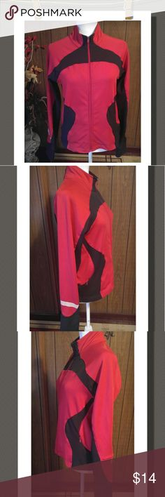 Track Jacket Nice track jacket with two front side pockets and a sleeve pocket with thumb holes, front zipper closure. Super nice jacket!  90% Polyester 10% Spandex Adidas Jackets & Coats