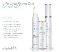 Conoce nuestra línea Life Line Stem Cell Skin Care. ¡La única línea de productos de células madre no embrionarias que  renuevan y rejuvenecen tu piel! http://www.gvi.com.mx/Lifeline/lifeline.htm