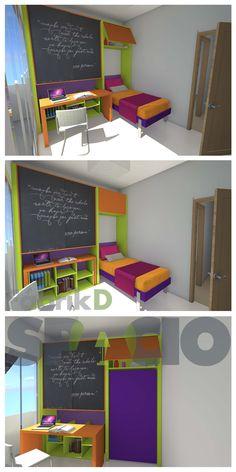 Loft, Facebook, Bed, Furniture, Home Decor, Creative Decor, Creativity, Foldable Bed, Shelving Brackets