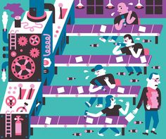 New York Times - Till Hafenbrak Illustration