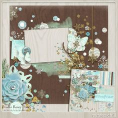 Winter Chill Freebie Quick Page — Rosey Posey Studio