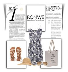 """""""Romwe 9/III"""" by nermina-okanovic ❤ liked on Polyvore featuring Billabong, Calypso Private Label, Ray-Ban and romwe"""