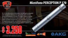 La Púa San Miguel: Micrófono AKG PERCEPTION P 170