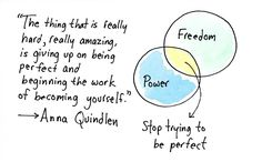 Stop trying to be perfect, just be you. Take a look at our advice for overcoming the ideas of perfection.