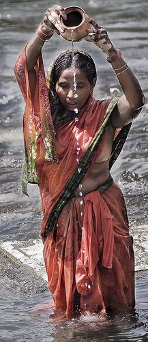 INDIA1074/ Puja by Glenn Losack M.D. on Flickr - Ujjain, India