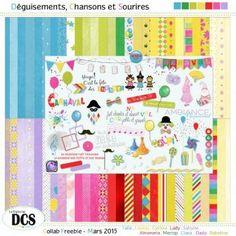 FREEBIE : Deguisements2C-Chansons-et-Sourires - Free-digiscrap.com : le digiscrap gratuit ! The free digiscrap resource !