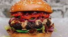 The Really Hungry Burger | Veganuary