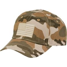 7076c83b Image for Academy Sports + Outdoors™ Men's Americana Woodland Camo Twill Hat  from Academy Hunting