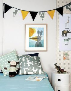 An Updated Classic: Pegboard in Kids Rooms. Thanks, Apartment Therapy!