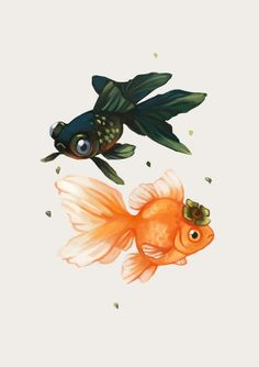 Tea Spirit - Persimmon by Heather Penn >> This is actually a print but I think it would be a lovely tattoo as well.