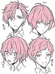 Klicke Um Das Bild Zu Sehen Image Result For Anime Male Hairstyles Anime H Anime Bild Das In 2020 Drawing Male Hair Anime Boy Hair Drawing Hair Tutorial