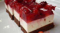Úžasný tvarohový zákusok s ovocím BEZ múky: Je výborný a úplne jednoduchý – môže ho aj na diéte! Cheesecake, Desserts, Gardening, Basket, Cooking, Tailgate Desserts, Deserts, Cheesecakes, Lawn And Garden