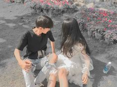 Love Couple Photo, Cute Couple Pictures, Girl Pictures, Best Friend Couples, Boy And Girl Best Friends, Couples Images, Young Couples, Ulzzang Couple, Ulzzang Girl