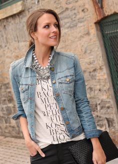 Dressed-up denim