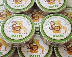 Latinha Personalizada Safari - Verde