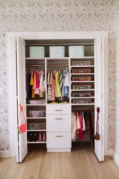 How To Organize A Baby Closet with The Home Edit – A Beautiful Mess