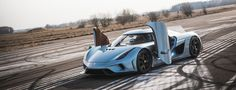 """""""Koenigsegg Regera"""" is limited edition luxury car launched by Swedish manufacturer """"Koenigsegg"""".This sports car has 2-door targa top body style, rear-mid engine and rear wheel drive layout. This is the first car in the World that has completely robotized body closure system. The Koenigsegg Regera has 5 L twin turbo V8 engine and 1-speed fixed gear transmission that makes it one of the fastest cars with the speed of reaching 100km/h in 2.7 seconds and the top speed of 400km/h in 20 seconds."""