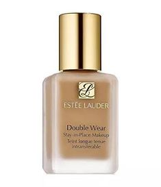 Estee Lauder Double Wear Stay-in-Place Makeup, 1 oz / 30 ml Desert Beige) Estee Lauder Double Wear, Waterproof Foundation, No Foundation Makeup, Liquid Foundation, Double Wear Foundation, Flawless Foundation, Foundation Application, Drugstore Foundation, Best Foundation For Combination Skin
