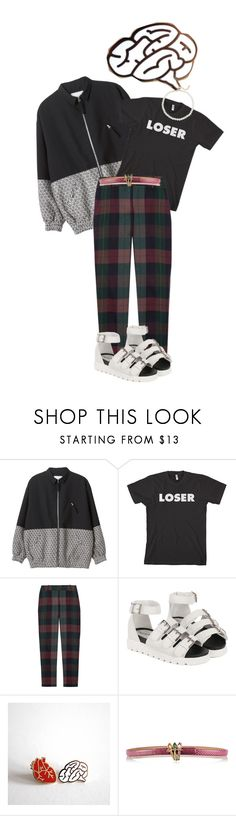 """If I believe you"" by lifeinthelights ❤ liked on Polyvore featuring Monki, Theory, Valentino, Saks Fifth Avenue, music, Dark, ootd and the1975"