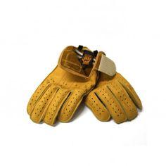 Motorcycle Gloves Swany Grip Mustard | Ellaspede