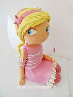 My Little Fairy - My Little Fairy (3D) was a chocolate cake with about 60cm height.