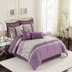 EHS Fleurette 7-Piece Fashion Bedding Set