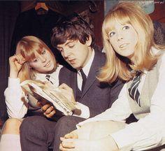 Paul McCartney  Pattie Boyd