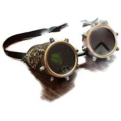 Steampunk Aviator adventure goggles