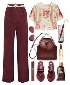 12.08.15-2 by malenafashion27 on Polyvore featuring moda, Vilshenko, H&M, Carven, Jennifer Fisher, J.McLaughlin, tarte, CARGO and Crate and Barrel