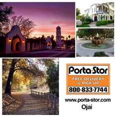Need to Rent Portable Storage Containers in Ojai, California? Call Porta Stor at to Rent Portable Storage Containers in Ojai. Storage For Rent, Ventura County, Moving Tips, Storage Containers, Mansions, Ojai California, House Styles, Places, Storage Bins
