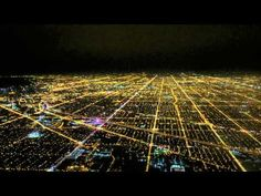 Night Landing Airplane at Chicago O'hare International Airport Cockpit View - YouTube