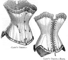 French Women's corset