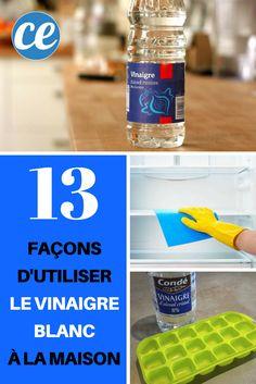 Le Vinaigre Blanc Est un Nettoyant PUISSANT. Voici 13 Façons de l'Utiliser Pour Une Maison NICKEL.