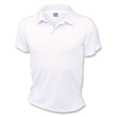 LARGE White Vapor Apparel Performance Polo Shirt -- Enmart Online Store, Great base for embroidered logo shirt