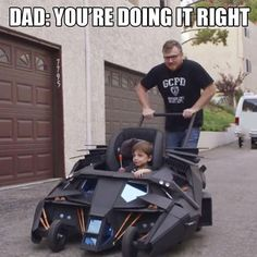 The Dad Knight