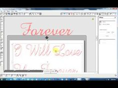 ▶ Turning fonts n graphic for engraving - YouTube