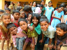Rejoicing that these children were set free a few months ago from a life of slavery in India through International Justice Mission! {via IJM  on Facebook}