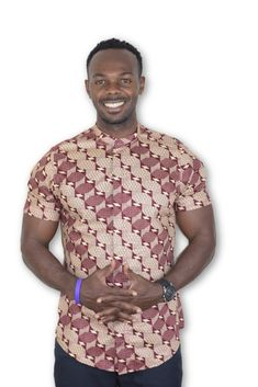 by AlkebuStyle African Wear, African Fashion, Colorful Fashion, Etsy Seller, Men Casual, Mens Fashion, Mens Tops, How To Wear, Clothes