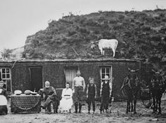 Pioneer Homestead Made of Prairie Sod, 1886 Photographic Print at AllPosters.com