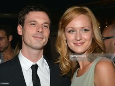 Actors Scoot McNairy and Kerry Bishe attend the 'Argo' Los Angeles Premiere at AMPAS Samuel Goldwyn Theater on October 4, 2012 in Beverly Hills, California.