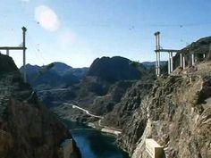 Hoover Dam Bypass Bridge Construction Time Lapse