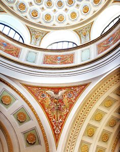 One of the world's most beautiful libraries is The National Library of Finland, Helsinki. Opened renovated interiors 1st May 2016.