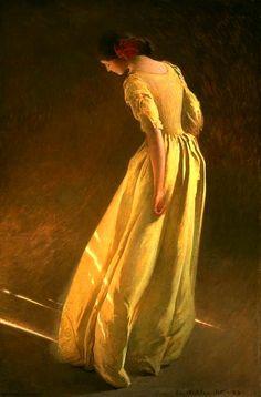 Sunlight, by John White Alexander (American: 1856-1915)