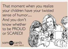 That moment when you realize your children | Funny Dirty Adult ...
