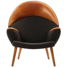 the Upholstered Peacock by Hans J. Wegner