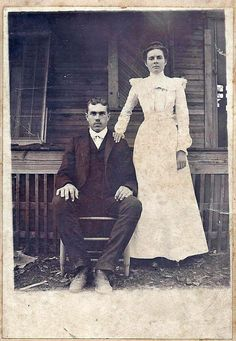 Nannie Ellen Kees and James Lewis  Rush About 1901 in Alexandria, Louisiana