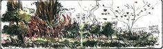 大學公園 Moleskine Watercolour Notebook 21x13cmx2/墨筆/水彩